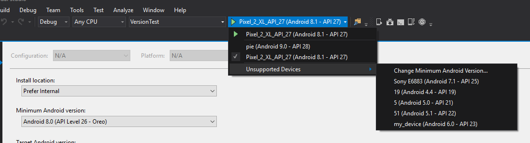 Unable to build xamarin project to real device — Xamarin