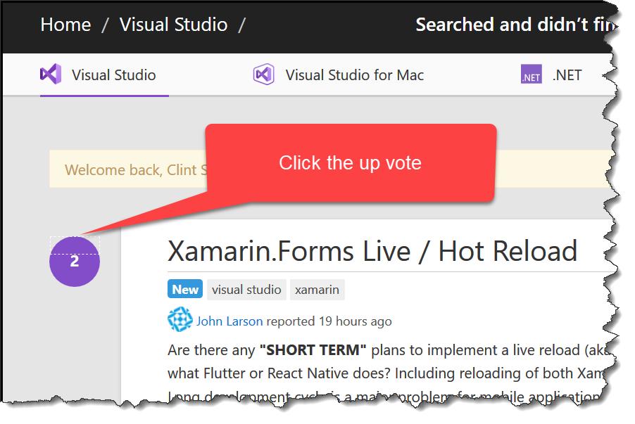 Xamarin LiveReload - Just does nothing — Xamarin Community
