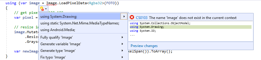 How to convert byte[] to Bitmap on Xamarin forms — Xamarin Community