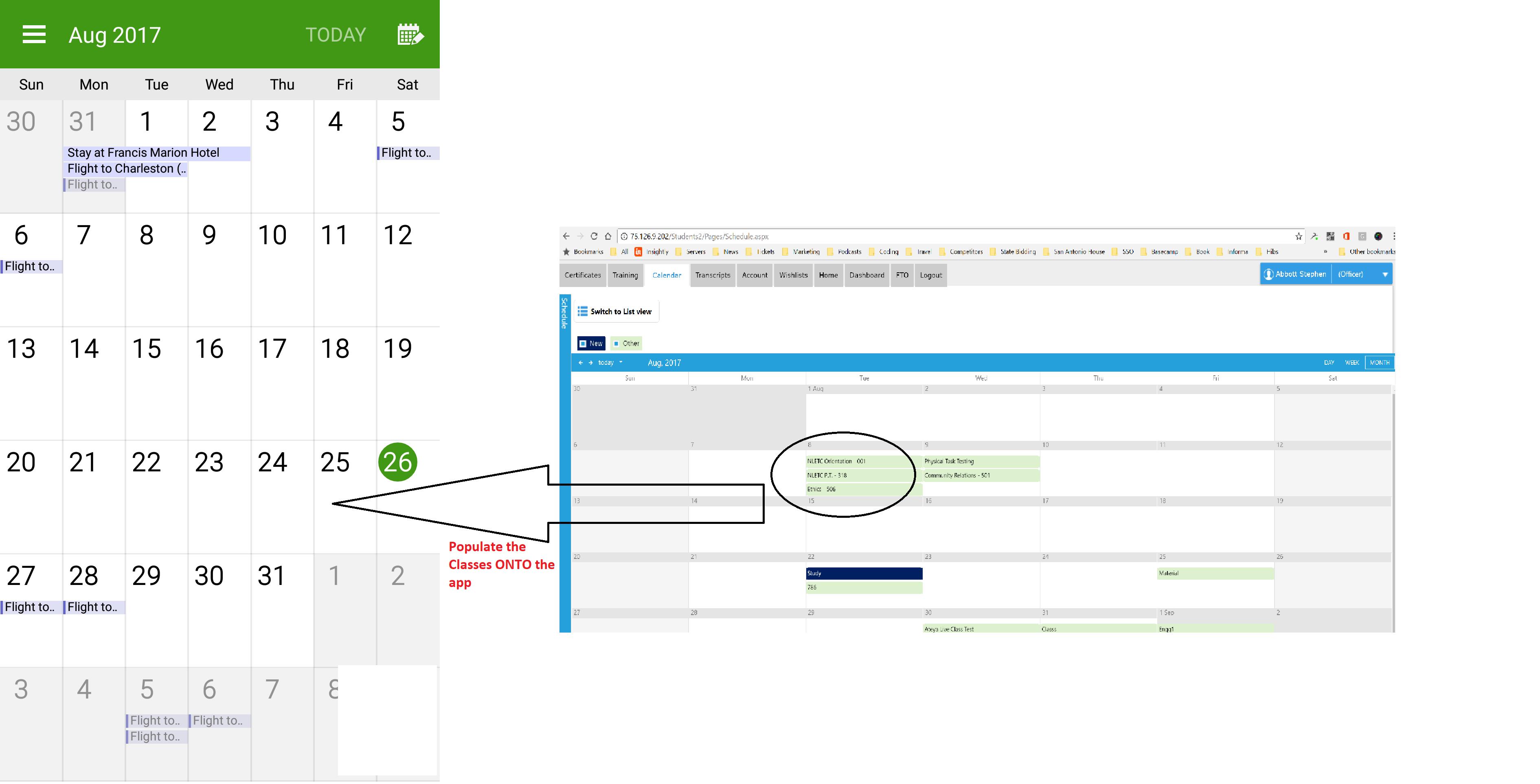 How can I generate a calendar in Xamarins Forms? — Xamarin