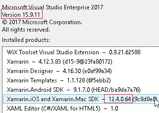 Updated VS Mac and it broke Xamarin iOS VS 2017 for Windows