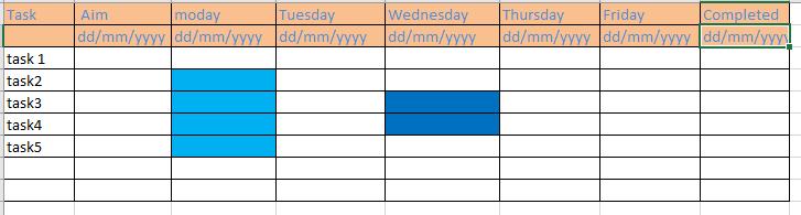 Creating Weekly based DataGrid in xamarin forms — Xamarin Community