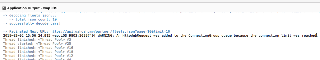 Webclient connection limit? — Xamarin Community Forums