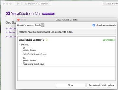 Problems after installing 15 5 on Visual Studio 2015