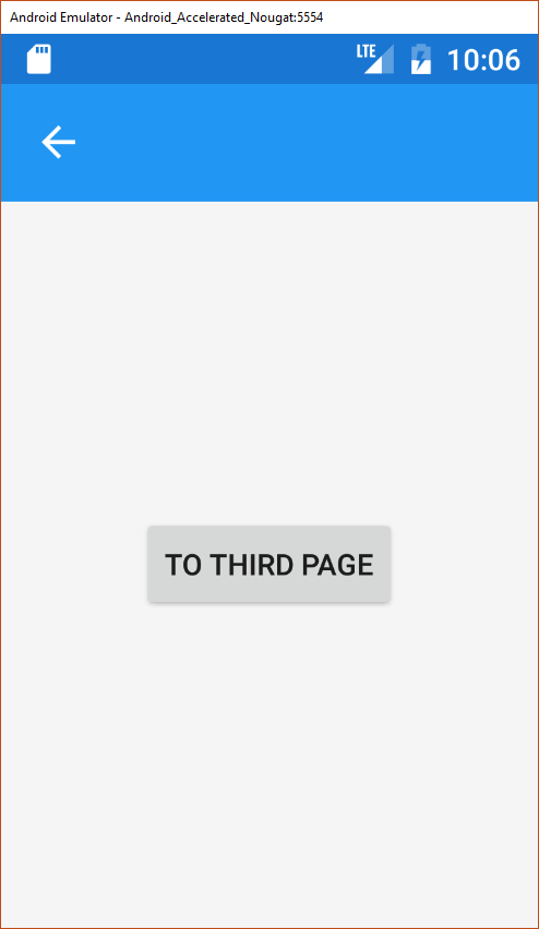 Xamarin Forms Prism: Navigation with buttons not working