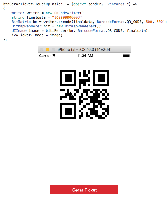 ZXing - QRCode — Xamarin Community Forums