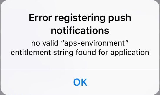 iOS Notification registration stopped working — Xamarin