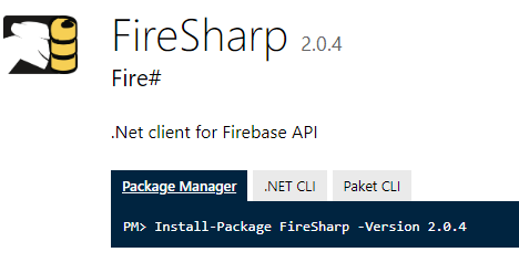 Unable to install Firebase Xamarin (by Ricardo) in  Net