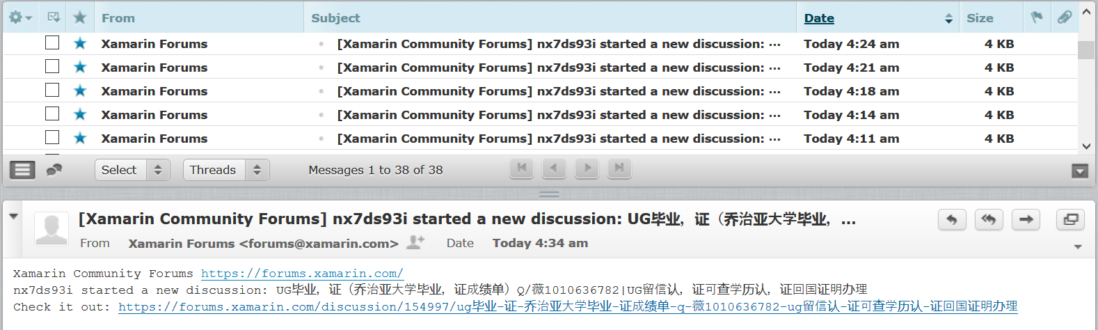 Spam is getting out of hand - Page 3 — Xamarin Community Forums