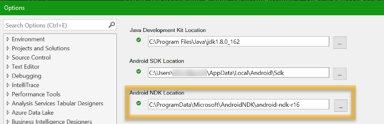 Brand New Xamarin Forms Project, Visual Studio Crashes if Android is