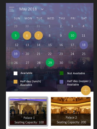 How to develop a calendar with multiple selected date — Xamarin