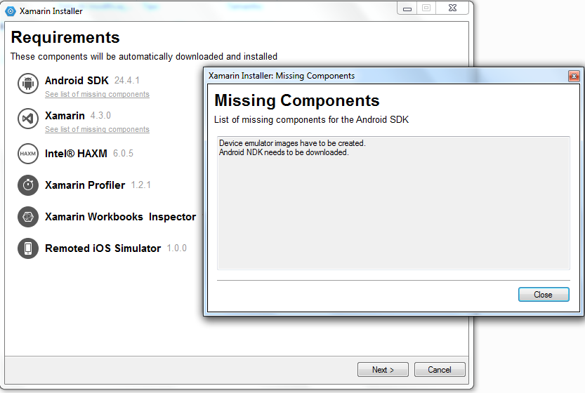 Install can't find NDK — Xamarin Community Forums
