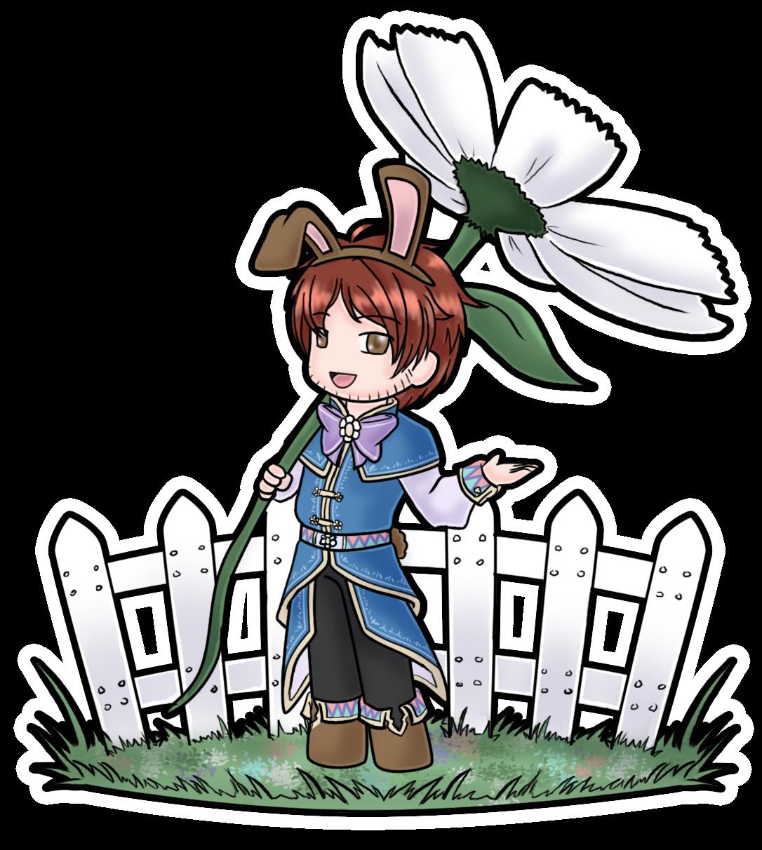 Bruin Bunny Sticker