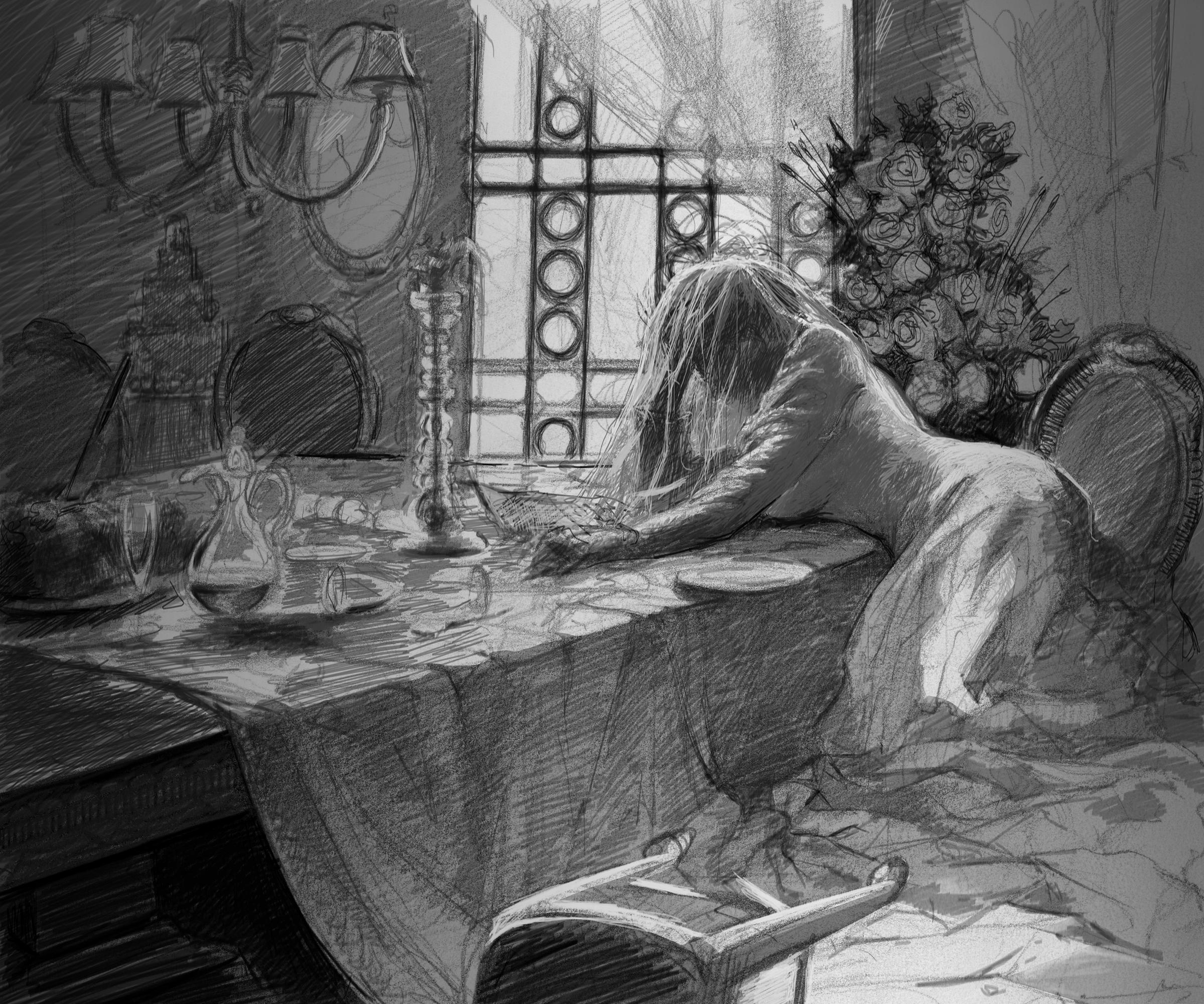 Miss Havisham - The Prequel — Draw Mix Paint Forum