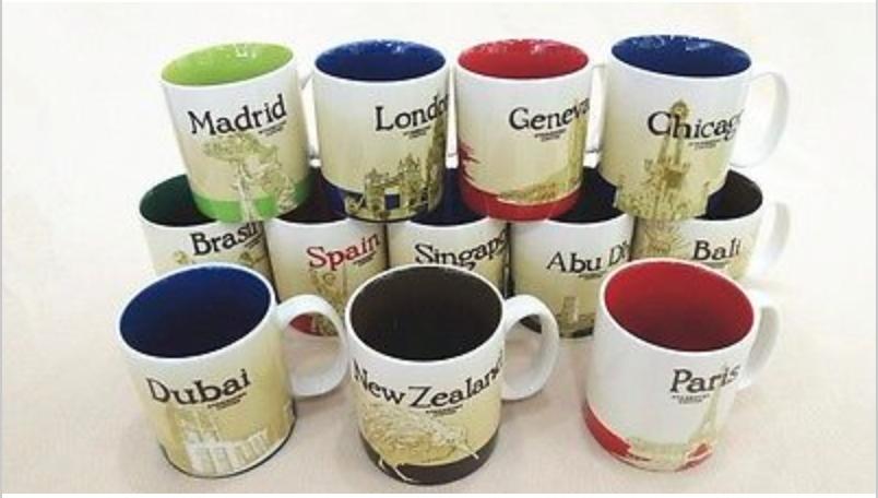 Starbucks Mugs — Draw Mix Paint Forum