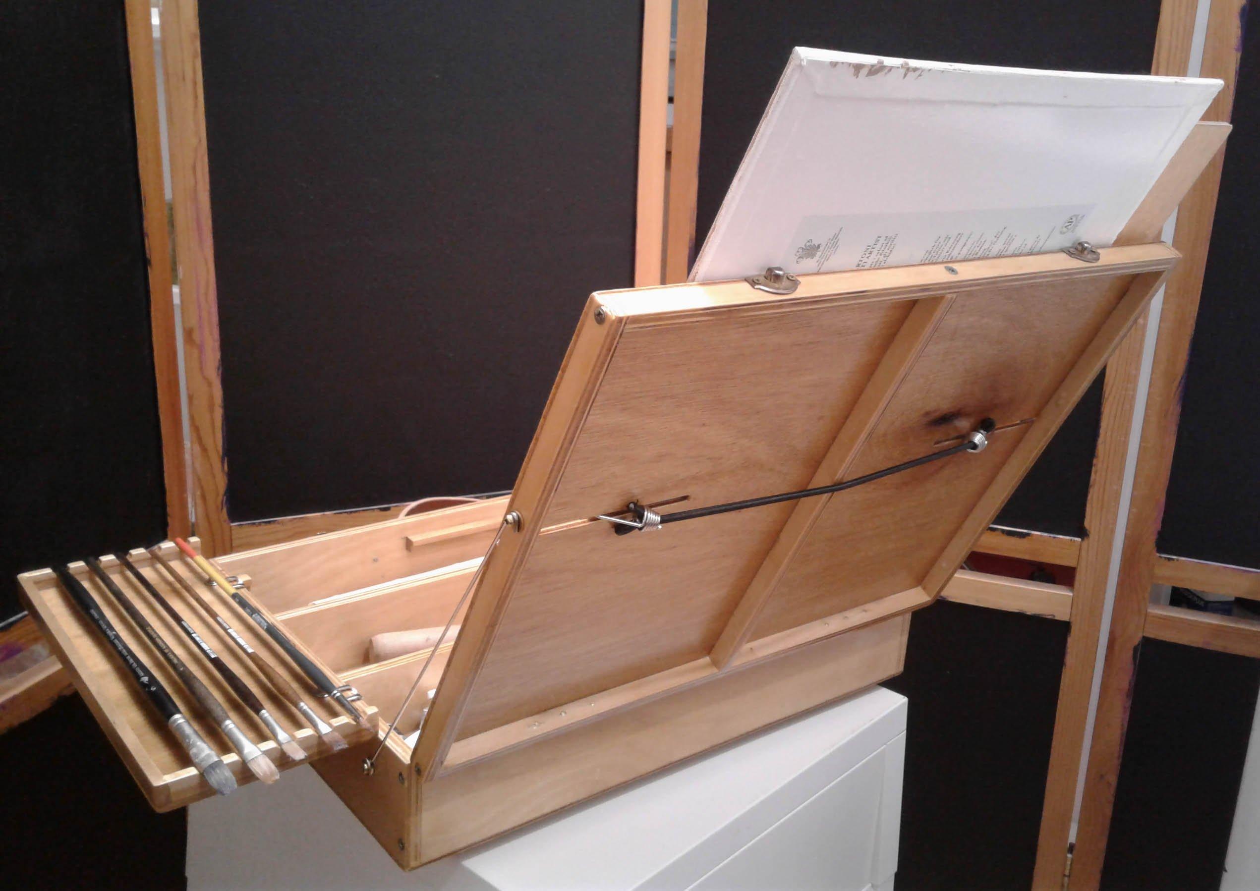 New Pochade Box, DIY, Scrap Pieces Wood