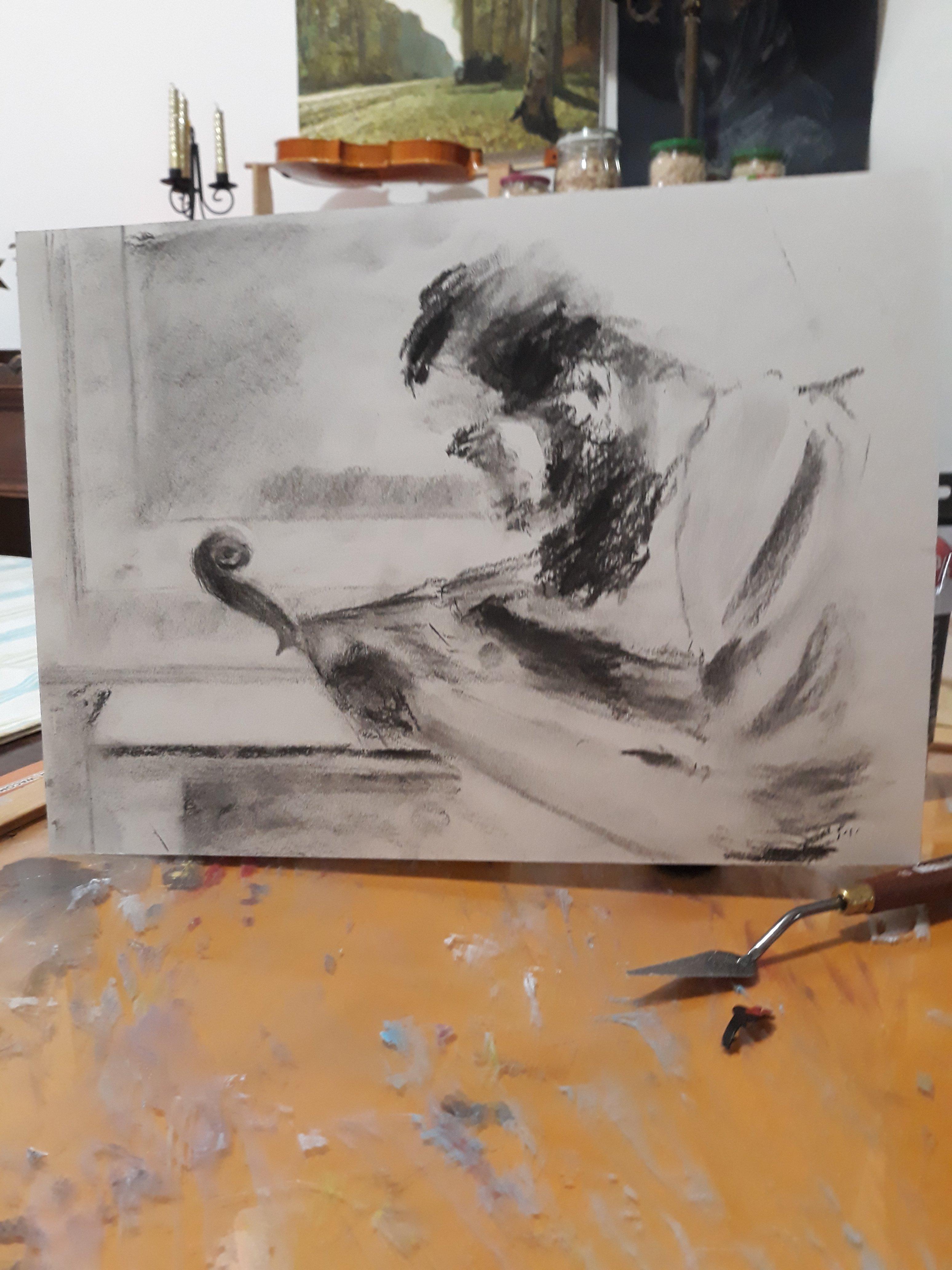 Quick sketch draw mix paint forum