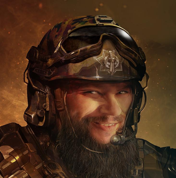 Survivor Hero Kyle War Commander