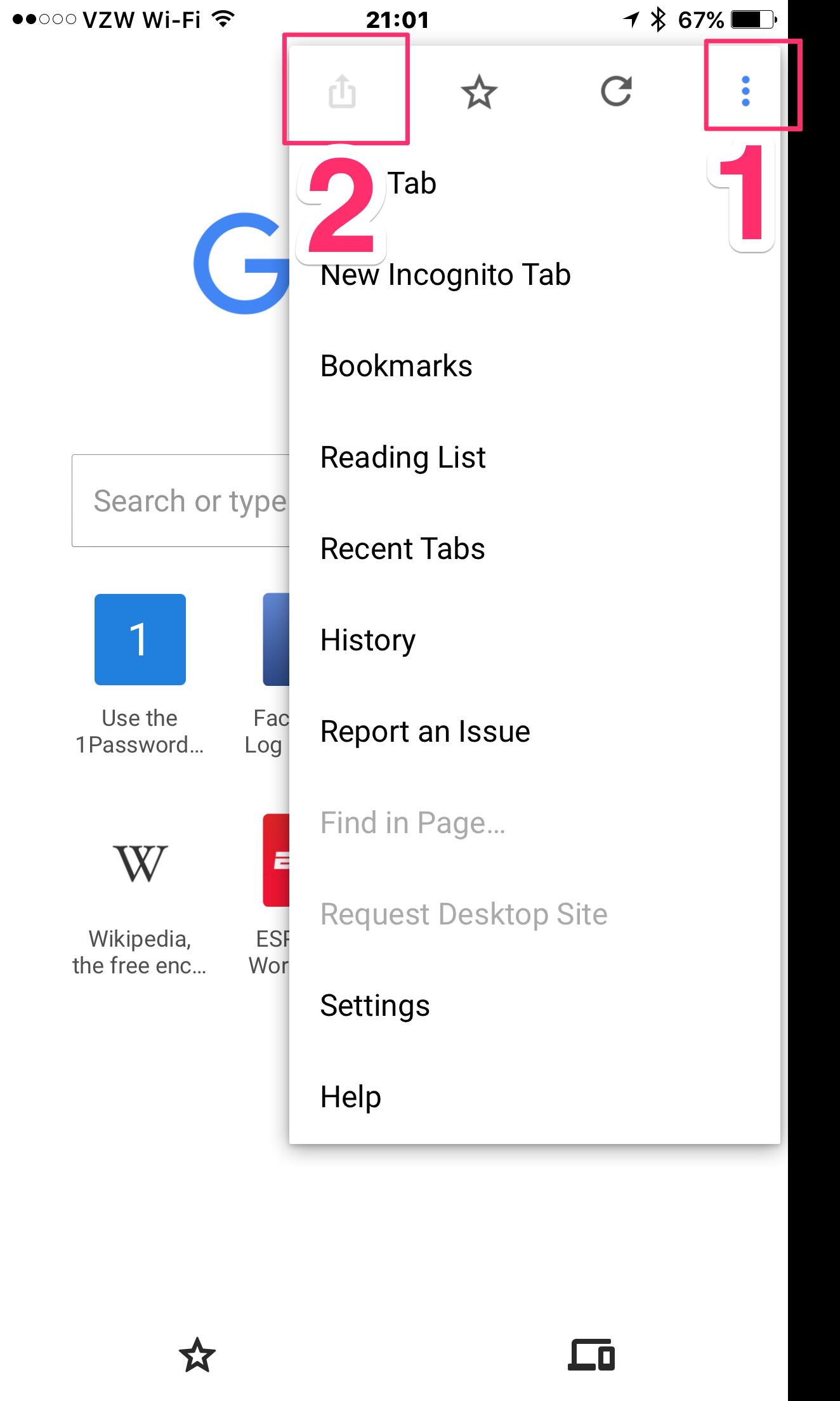 Chrome extension with IOS — 1Password Forum