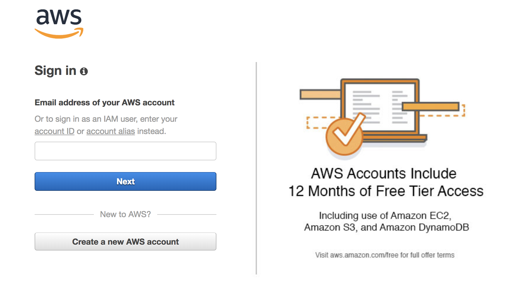 AWS Login when switching accounts between Root and IAM User