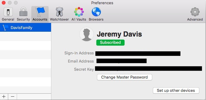 No Sync Icon Available in Settings (MacOS) — 1Password Forum