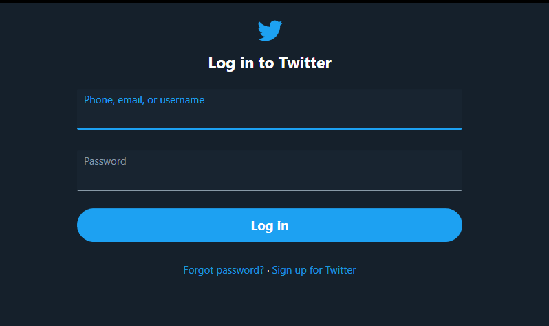Not able to login to Twitter App on Windows 10 [1Password can fill