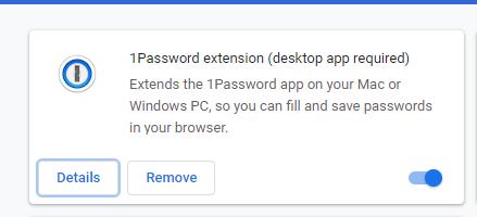 1password shows extension not installed — 1Password Forum