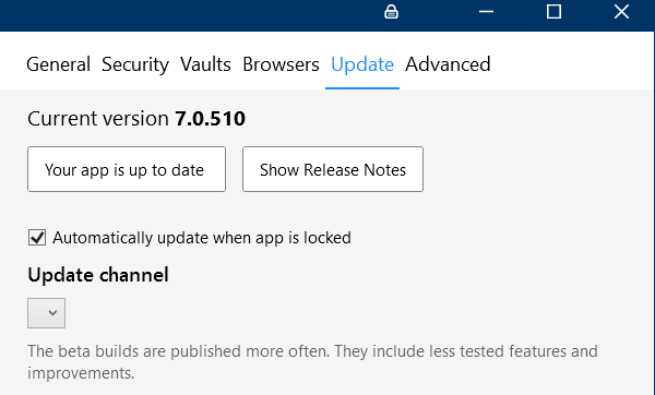 1Password 7 for Windows Alpha 1 is here! - Page 3