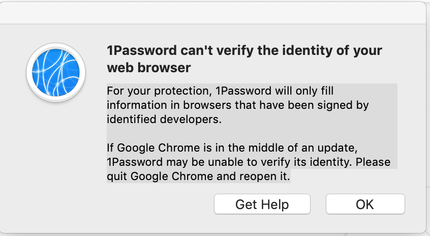 Can't Get Chrome Extension to Work on Mac — 1Password Forum