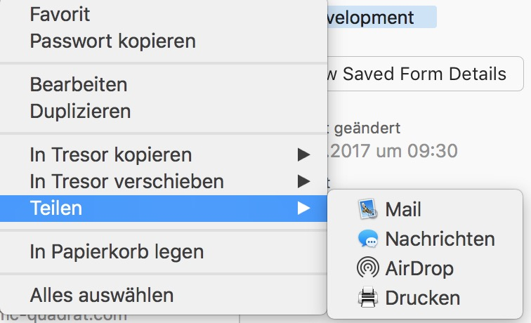 Beta Feature - Item sharing: how to send a copy of an item