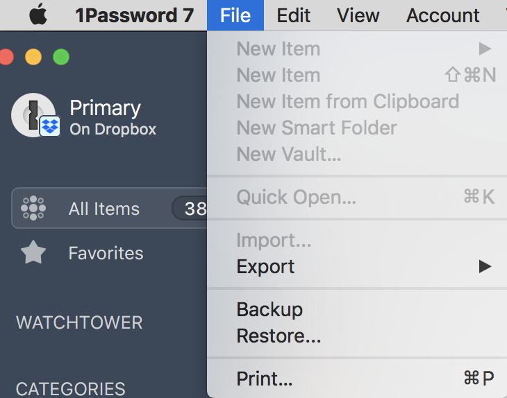 Why am I unable to create new logins on 1Password 7