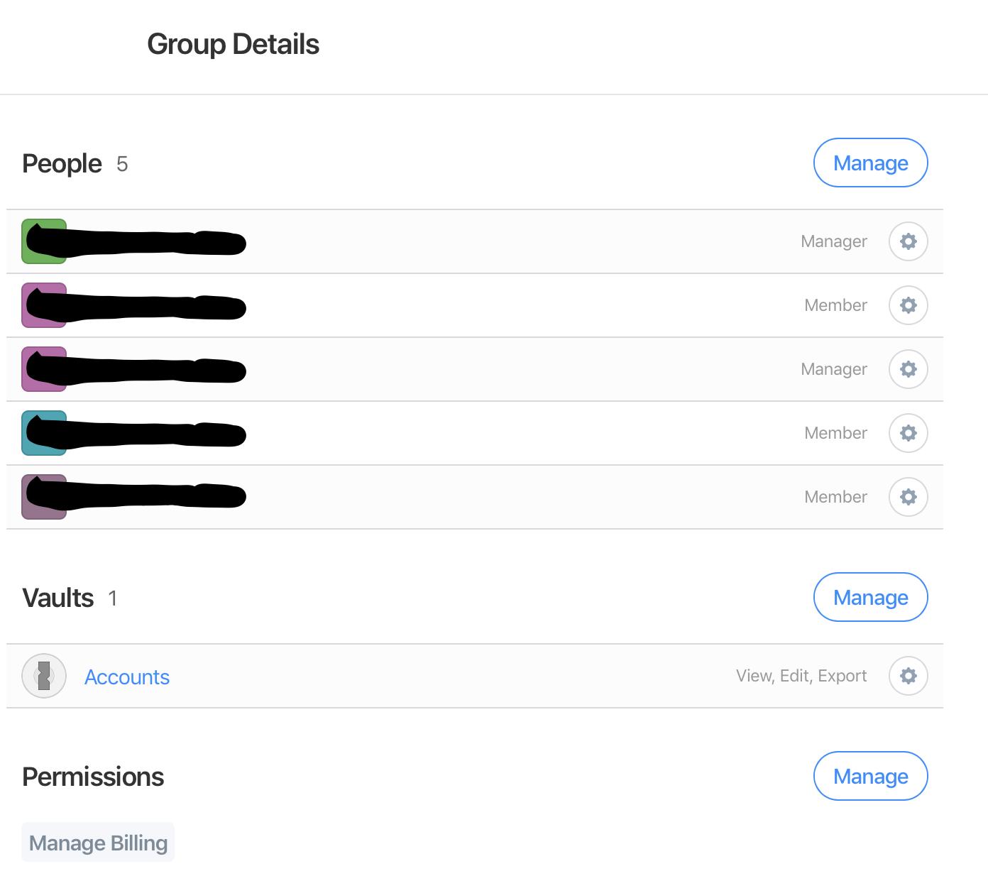 Feature request: Clearer feedback regarding vault access via