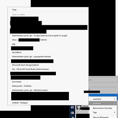 Redacted screenshot