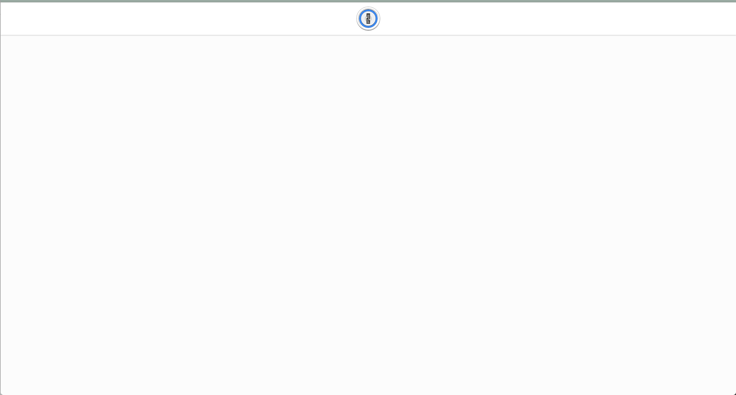 Blank browser page when trying to join family plan — 1Password Forum