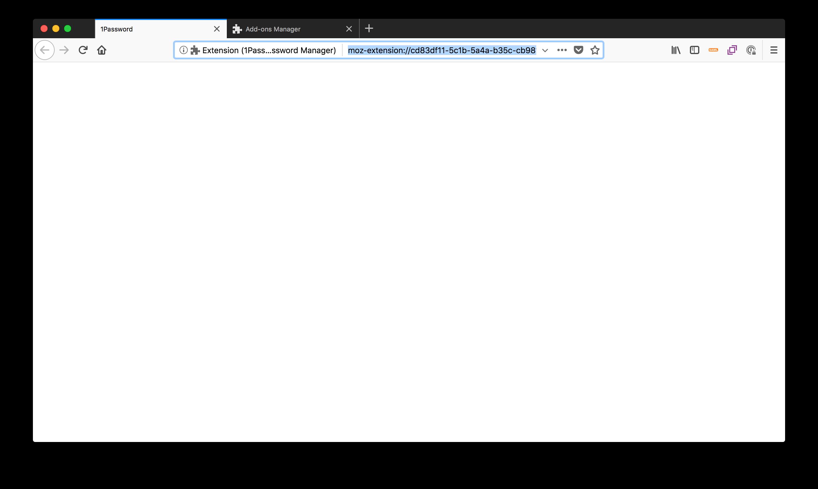 Production Firefox Plugin not working — 1Password Forum