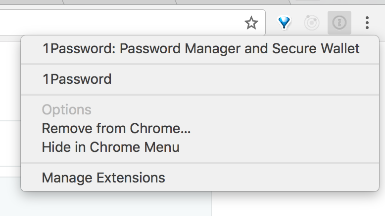 Mac Chrome extension stopped working — 1Password Forum