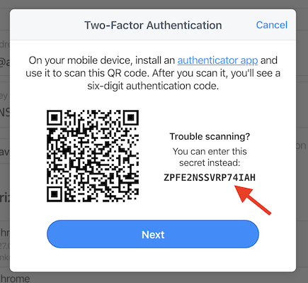 Question about 2FA and 1P — 1Password Forum