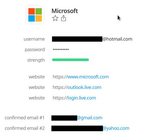 Email login live