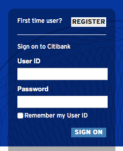 Citibank Online Sign In >> A Few Websites Chronically Fail To Register The Usernames 1p