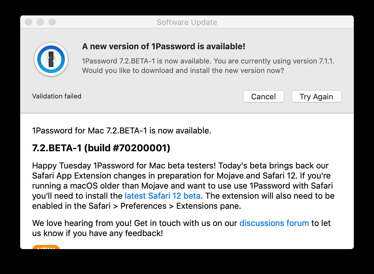 Download 1Password 7 2 Beta manually TODAY! — 1Password Forum