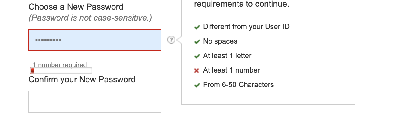 Password generator functionality has changed and I can't