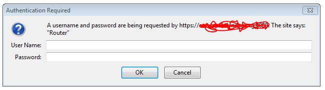 Linksys/Cisco Router login? — 1Password Forum
