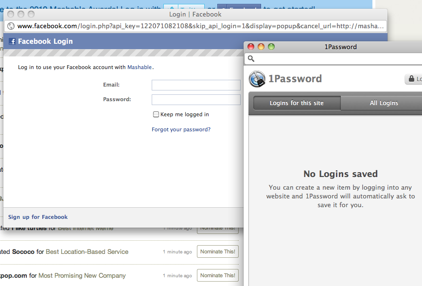 Chrome extension not listing logins in pop-up windows — 1Password Forum