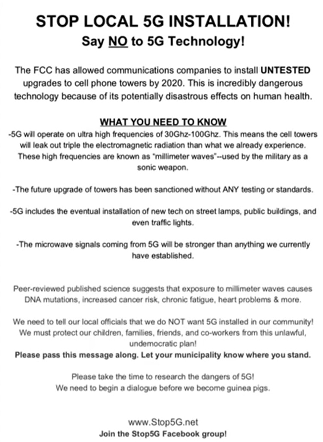 IMPORTANT MUST READ: The truth about the 5g KILL GRID the US