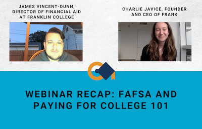Webinar Recap: FAFSA and Paying for College 101, Image by College Confidential Forums