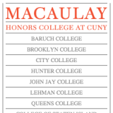 can you apply to both macaulay honors college and sophie davis  macaulayhonors