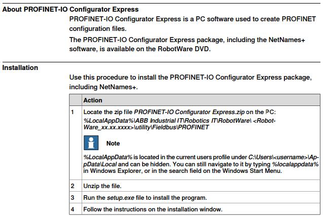 Configuring Profinet IO SW option in RobotStudio — ABB Robotics User