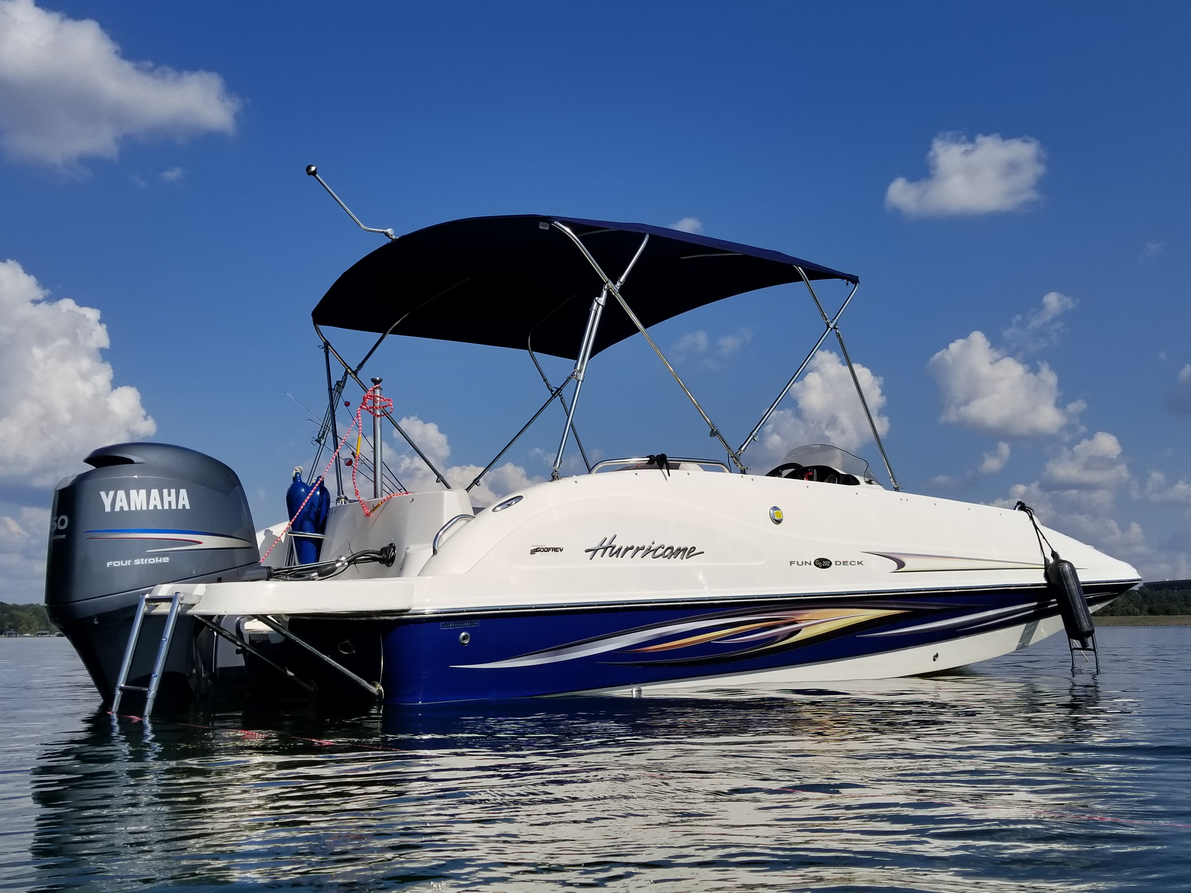 1999 Hurricane Fundeck 226 Sold 2008 GS202 Current