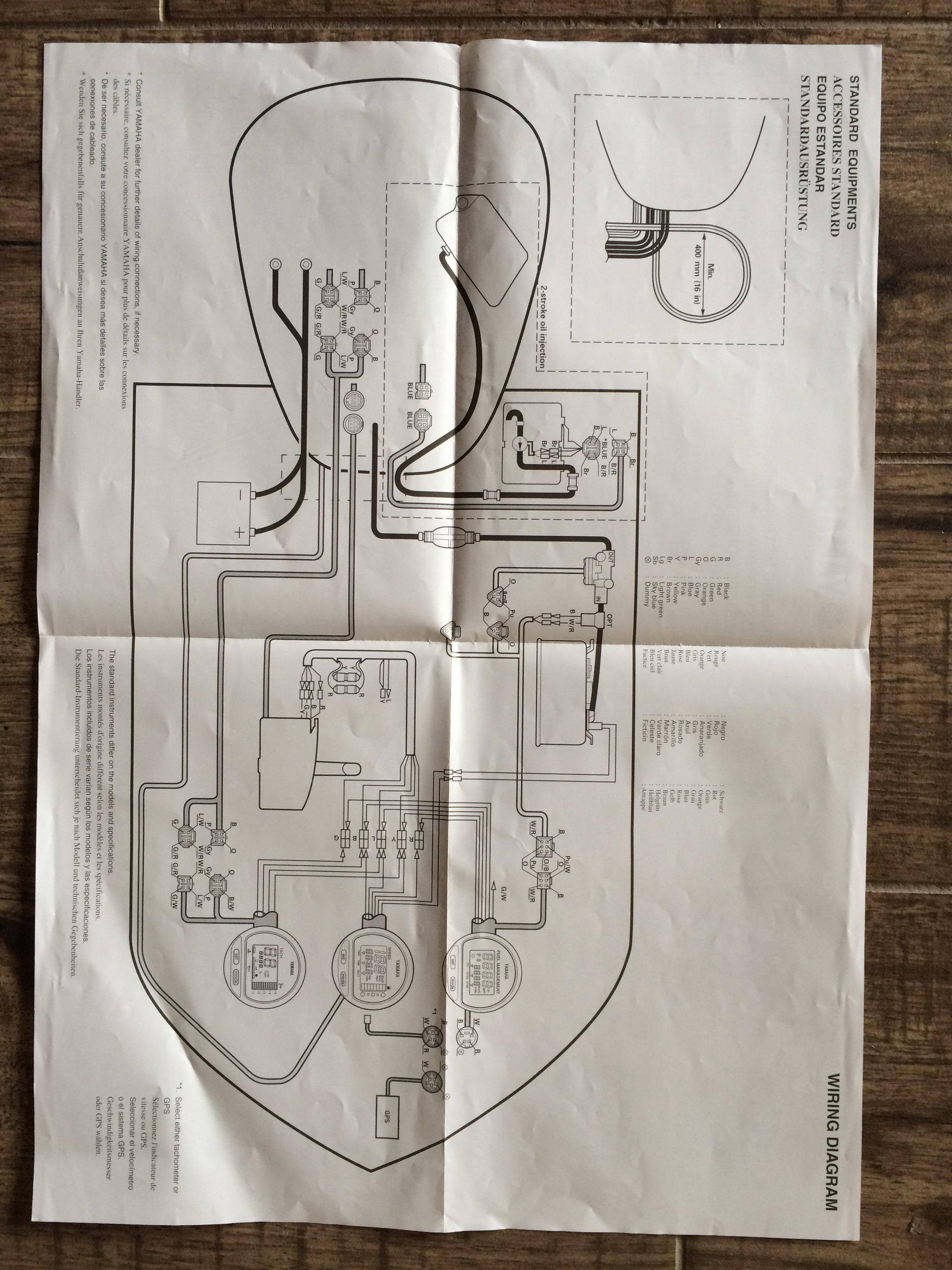 Hurricane fun deck wiring diagram and