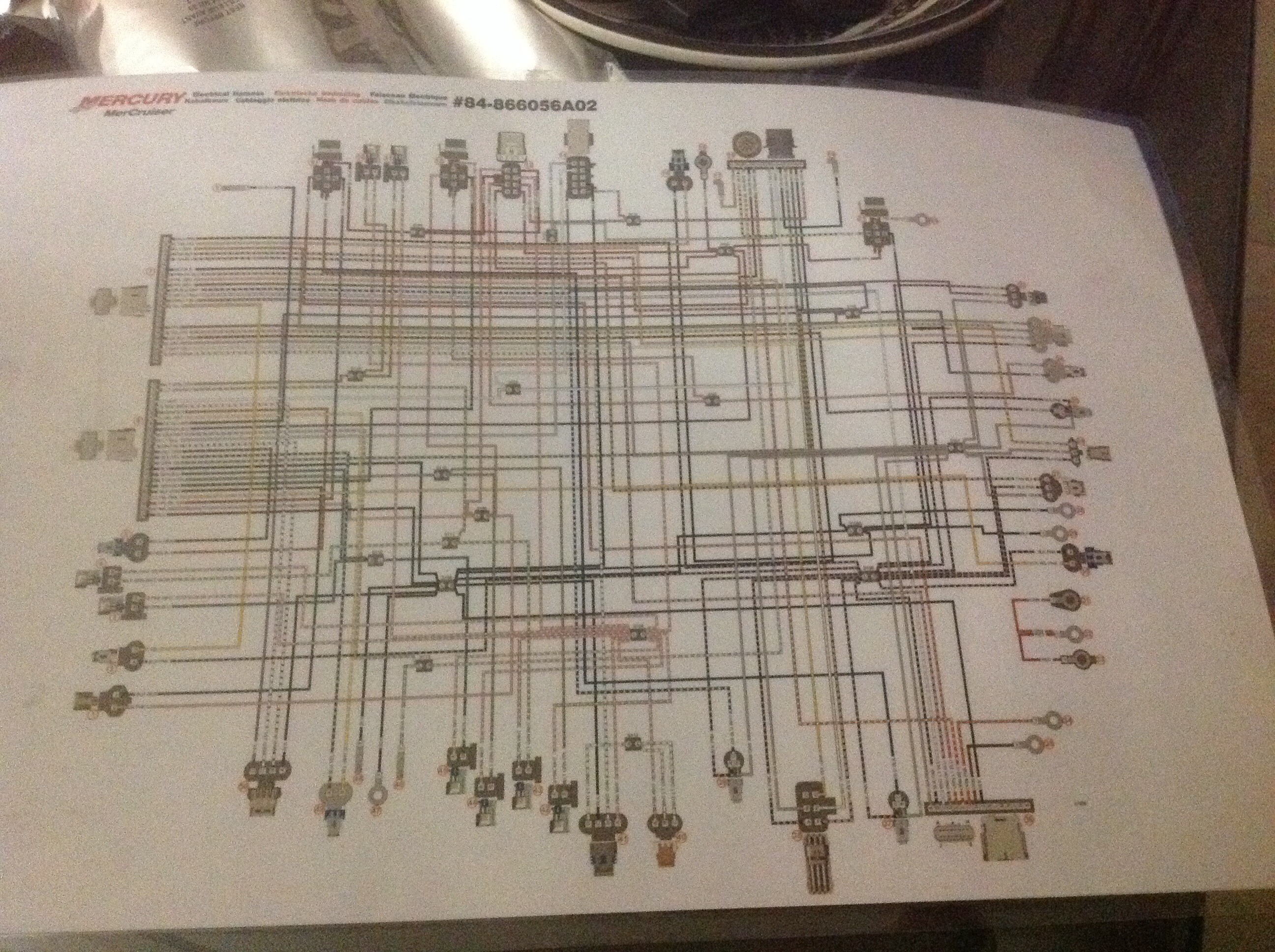 Wiring Diagram For Mercruiser 5 0  U2014 Rinker Boat Company